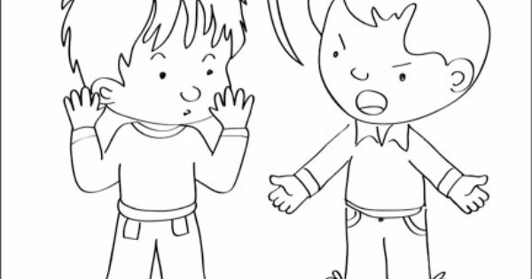 Good Touch Bad Touch Coloring Book - a-k-b.info
