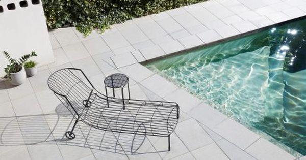 Trent jansen designs tidal sunlounger to capture the mood of a 1970s australian summer - Ontwerp terrasmeubelen ...