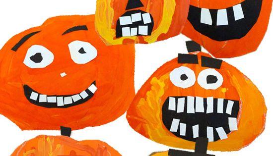 Deep Space Sparkle – Painted Pumpkin Art Lesson