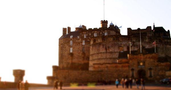 dream vacation Edinburgh Castle, Scotland