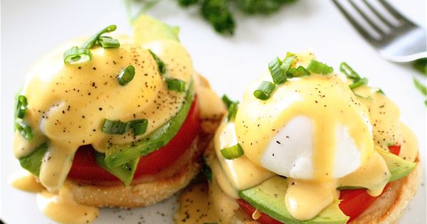 Great recipe blog - shown here are California Style Eggs benedict