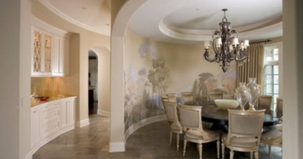 painted murals on dining room walls | ... Wall Murals - Wallpaper ...