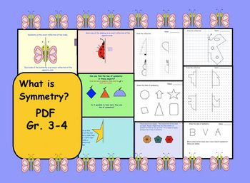 This Is Pdf File Pg 1 2 Symmetry Definition And Examplespg 3 How Many Lines Of Symmetry Students Will Identify The Smart Board Teaching Smart Board Activities
