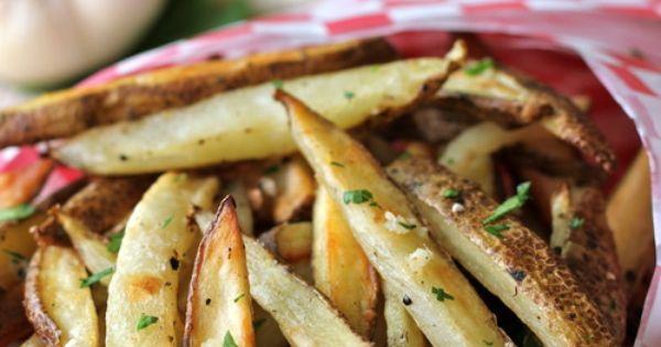 Truffle fries, Truffles and Garlic on Pinterest