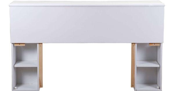 Tete De Lit 168 Cm Belem Coloris Blanc Lit Cadre De Lit Et Lit 160