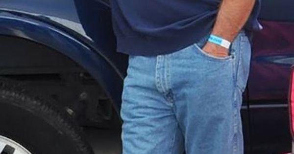 Fat gay man having sex