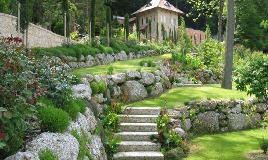 Gartengestaltung garten pinterest steinbruch natursteine und g rten - Gartengestaltung bauernhof ...