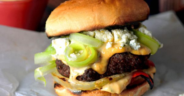 Burgers, Spicy and Celery on Pinterest