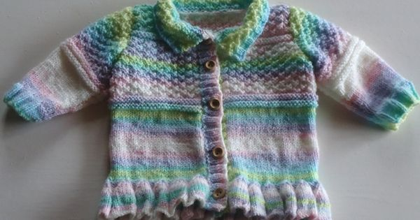 Baby Cardigan Knitting Pattern Knitting...Sweaters for ...