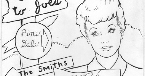 I love lucy coloring pages woman pinterest adult for I love lucy coloring pages