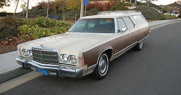 1976 Chrysler Town Country Station Wagon Chrysler Wagon