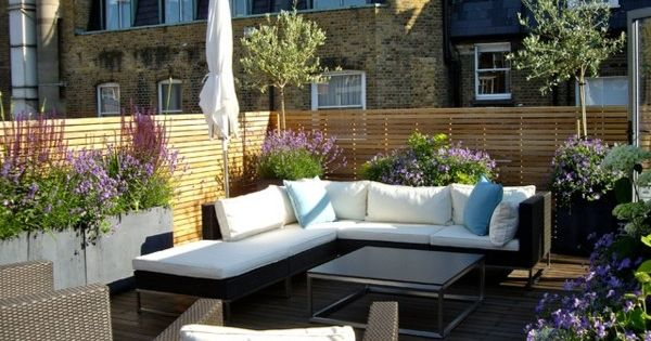 eine dachterrasse gestalten neue fantastische ideen garden pinterest. Black Bedroom Furniture Sets. Home Design Ideas