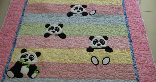 Panda Quilt For Grace My Quilts Pinterest Panda