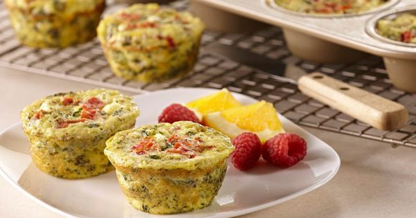 Mini Vegetable Frittatas | Recipe | Vegetable Frittata, Vegetables and ...