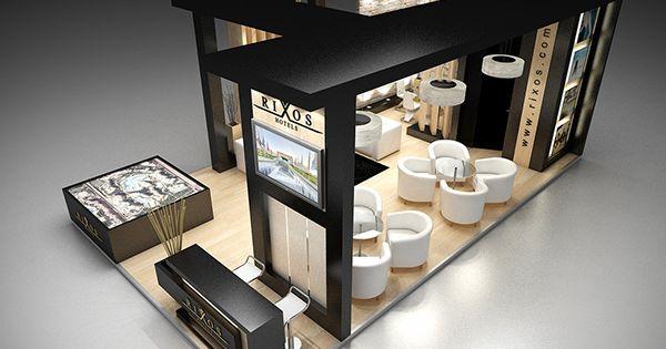 Modern Exhibition Stand Ideas : Design proposal for rixos hotel sharm el sheikh wtm
