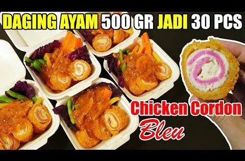 Ide Jualan Chicken Cordon Bleu Ekonomis Youtube Chicken Cordon Bleu Resep Resep Makanan