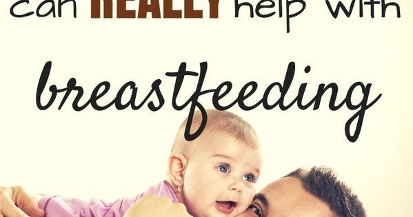 Dad Breastfeeding Help