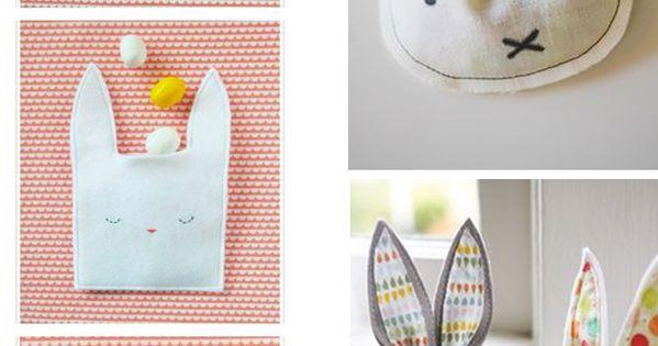 DIY des idées pour emballer vos cadeaux de Pâques. Un joli lapin en ...