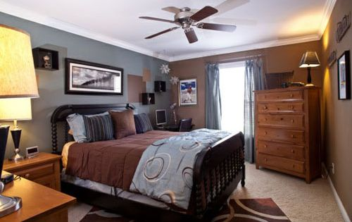 chocolate brown master bedroom master bedroom chocolate brown and blue style estate 14815