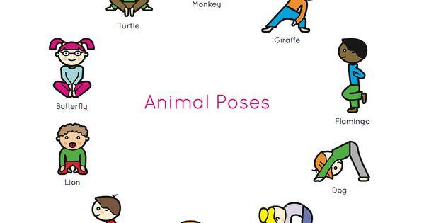 Kids Yoga Book: My First Yoga Animal Poses. $12.95, via ...