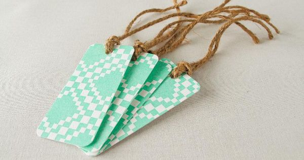 Letterpress Gift Tags diy gifts creative handmade gifts handmade gifts hand made