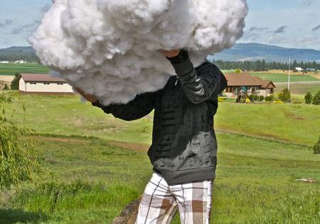 DIY Cloud.. photo prop, just for fun, playtime, party decor, etc.