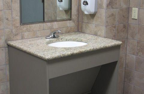 Ada Compliant One Sink Vanity Google Search Ada Bath