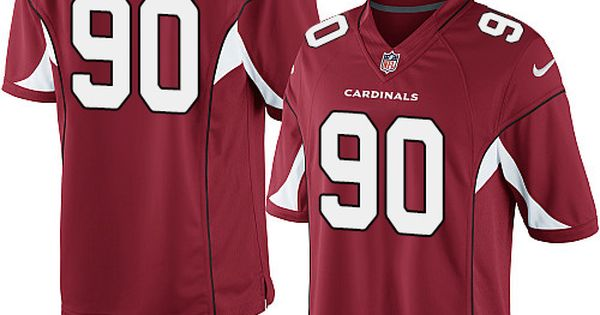 NFL Jerseys Nike - Limited Cory Redding Youth Jersey - Arizona Cardinals 90 Home Red ...