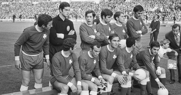 Panathinaikos Pinterest: Panathinaikos FC, European Cup Final At Wembley, June 1971