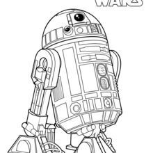 R2 D2 Coloring Page Star Wars Coloring Sheet Star Wars Coloring Book Star Wars Drawings