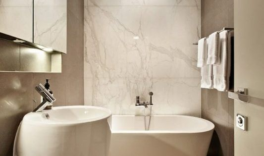 Galleria Foto Pareti Color Tortora Foto 4 Arredamento Bagno Bagno Beige Decorare Il Bagno