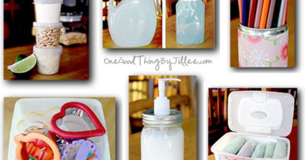 DIY: Top 10 Repurposed Household Items + A Tutorial on How to