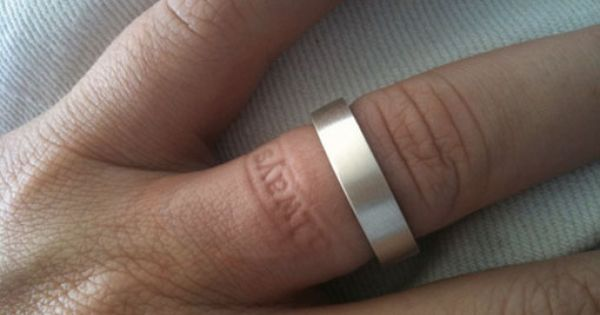 fun imprint ring!