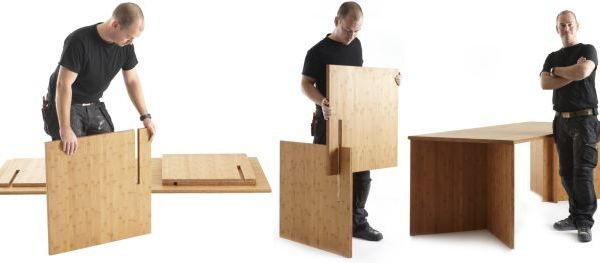 Slot furniture