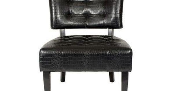 Winston Porter Avianna Slipper Chair Tufted Accent Chair Tufted