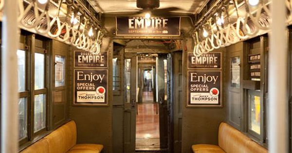 1920s Nyc Subway Train Back In Service For Boardwalk Empire