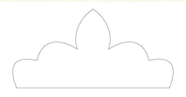 tiara template printable free - printable princess crowns templates search results