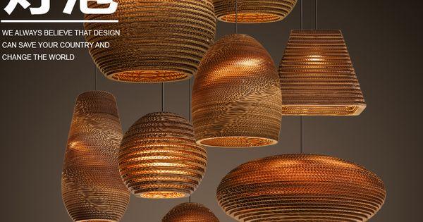 Goedkope ikea amerika land kooi bal hout rotan hanglamp hanglamp hanglamp e27 led bamboe - Ikea schorsing ...