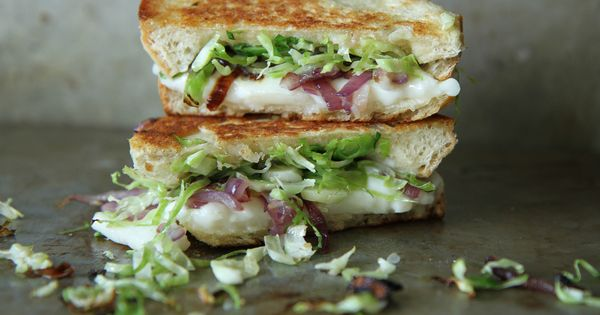 Brussels Sprouts Grilled Cheese Sandwich | Food & Drink | Pinterest ...