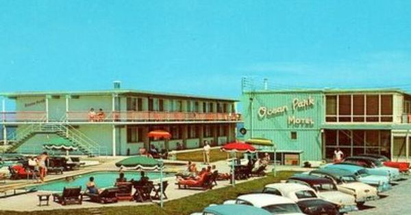 Very Awesome Picture Of An Old Motel Ocean City Ocean City Md Ocean Park