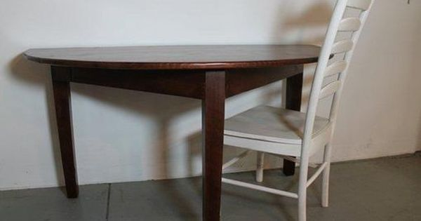 Custom Made Small Half Circle Dining Table Breakfast Nook Table
