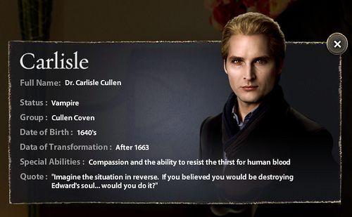 Carlise Cullen New Moon The Cullens Twilight Movie Twilight