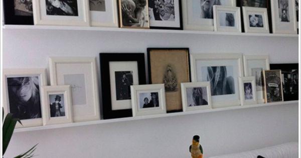Colgar cuadros y fotos de forma decorativa decoratrix - Forma interiorismo ...