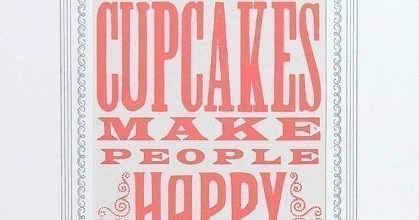 Cupcakes sign