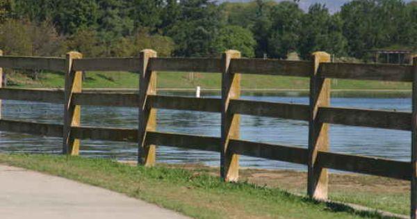 Split Rail Fence Fence Split Rail Fence Concrete