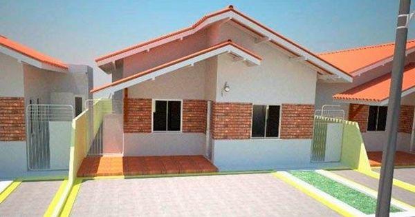 Plano de casa peque a de un piso con tres dormitorios for Decorar piso 80 metros