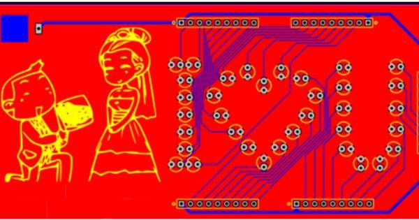Learn To Make Romantic Pcb Circuit Board Circuit Board Design Pcb Design