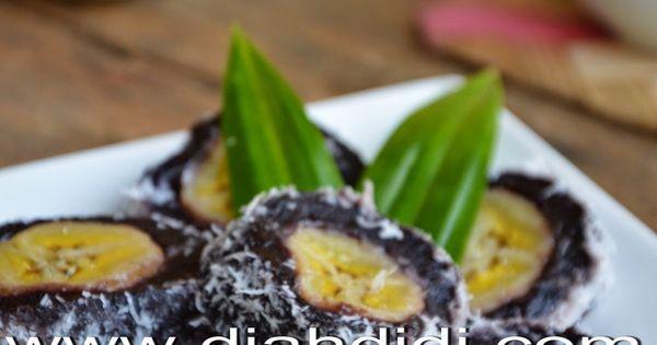 Resep Cake Pisang Diah Didi: Diah Didi's Kitchen: Pisang Hitam Manis