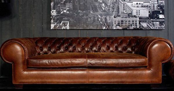 Sofa chesterfield muebles ingleses pinterest hogar for Sofas clasicos ingleses