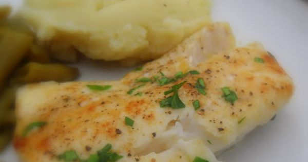 The English Kitchen: Butter Baked Cod. I liked this recipe. It was